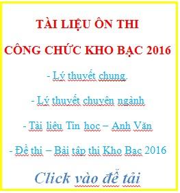 tai lieu on thi cong chuc kho bac